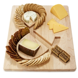 ampersand cheeseboard word nerd gift idea