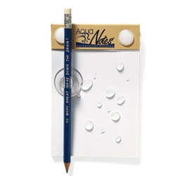 aqua notes word nerd gift idea