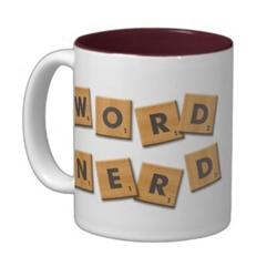 word nerd cup gift idea