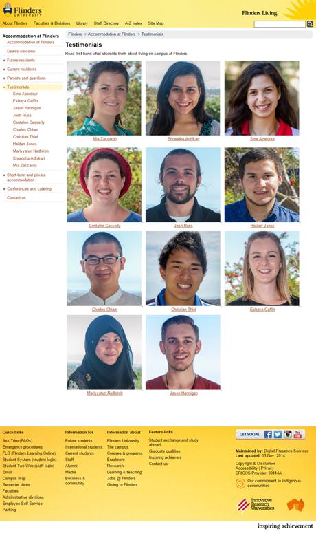 Case Study Copywriting - Flinders University