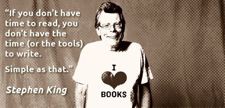 Stephen King I Love Books
