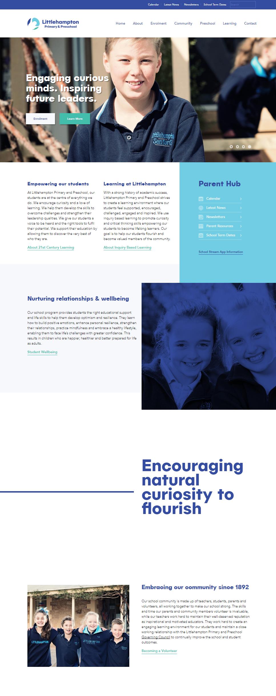 Littlehampton Primary School - website copy